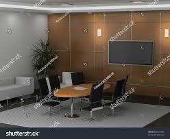 modern interior office stock. Modern Interior Of Office 3D Stock S