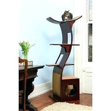 modern cat tree furniture. Modern Cat Tree Furniture Espresso .