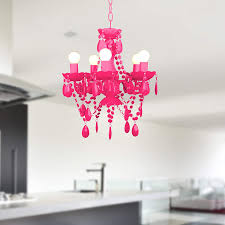 Roomproducts Arte Small Neon Pink 5 Armig Retro Moderner