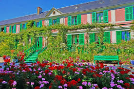 monet s house and gardens in giverny just a short train trip away from paris