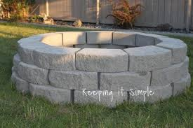 stone fire pit ideas. This Fire Pit Is Totally Simple. She Gives You A Great Materials List And The Price Paid For Each Item On List. Thing To Have Stone Ideas