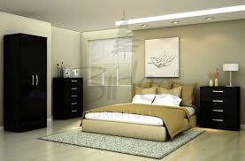 bedroom furniture black gloss. lynx bedroom set furniture black gloss