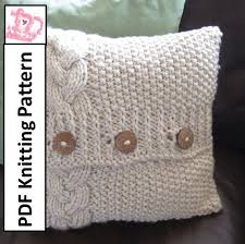 16×16 Pillow Cover Pattern