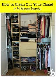 if the idea of organizing your closet seems too overwhelming why not try these tips