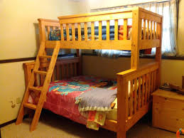Loft Beds: Loft Bed Plans Queen Twin Over Full Bunk Beds Free Size Frame: