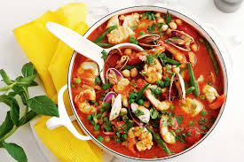 Spring seafood tagine - Recipes ...