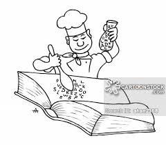 chef makes a cook book