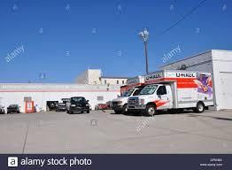 Uhaul Truck S U Haul Moving Trucks Stock Photo Royalty Free Image 43763904 Alamy
