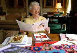 happy 80th birthday ma am a radiantly happy queen reads some of the