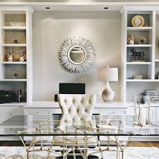 home office space ideas. Bloggers\u0027 Office Decor: Glam White VERSUS Mysterious Dark? \u2013 The Fashion Tag Blog Home Space Ideas