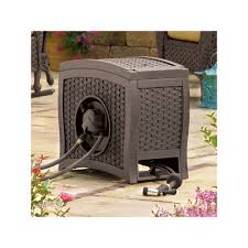 automatic garden hose reel. Plain Hose Hydro Power Automatic Garden Hose Reel  Outdoor Brown With
