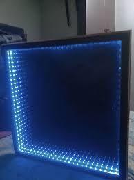 Infinity Coffee Table Infinity Mirror Table The Easy Version 6 Steps With Pictures