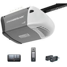 chamberlain 0 5 hp chain drive myq compatible garage door opener
