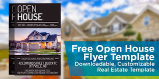 Free Open House Flyer Template Click To View Download Mortgage