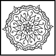 Small Picture Mandalas to color printable coloring pages for kids coloring