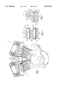 patent us5615642 motorcycle engine google patents patent drawing