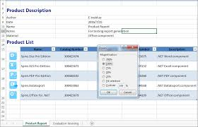 to set the Zoom Factor on Excel worksheet in C#