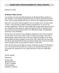 6 Sample Recommendation Letter For Coworkers Pdf Word