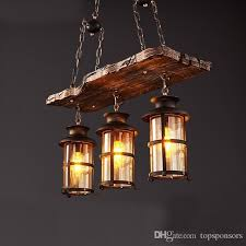 vintage style lighting fixtures. Vintage American Country Style Lighting Fixture Bar Coffee House Wood Pendant Lamp Ceiling Shade Dining Room Lights From Topsponsors, Fixtures