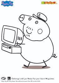 Pingl Par S Sur Peppa Pig Pinterest Peppa Pig Coloriage Et