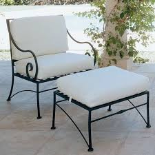 iron patio furniture. Rod Iron Furniture Vintage Wrought Lounge Chairs With Cushions Seat Patio
