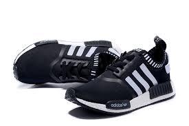 adidas shoes nmd womens black. adidas nmd runner black white men women shoes nmd womens