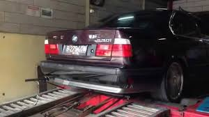 BMW 3 Series bmw 530i transmission : Dyno pull BMW E34 530i V8 3.0L - Manual Transmission - YouTube