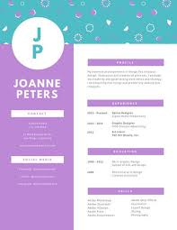 Graphic Design Resume Stunning Customize 28 Graphic Design Resume Templates Online Canva