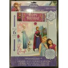 disney frozen scene setters wall decorating kit 5 pieces by amscan amscan