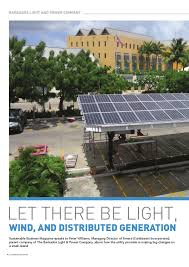 Light And Power Barbados Sustainable Business Magazine 01 16 By Sustainable Business