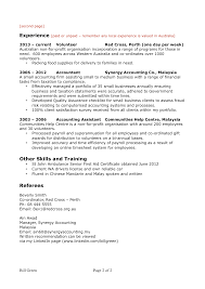 Best Charity Resume Contemporary Simple Resume Office Templates