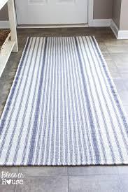 ticking stripe foyer runner rug bless er house one dashing runner bless er house dash albert zanzibar ticking stripe rug