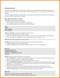 9 Good Resume Objective Statement Formatting Letter