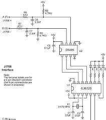 sae j1708 ds36277 max3444 ds75176b carprog 博客园 j1708 wiring on a 9 pin sae connector