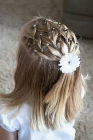 Coiffure Pour Fille Luxury Coiffure Mariage Petite Fille
