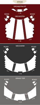 Grand 1894 Opera House Galveston Tx Seating Chart