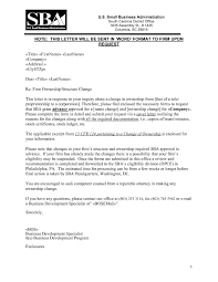 Change Of Business Ownership Letter The Letter Sample