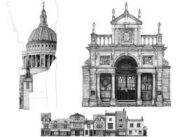 architectural buildings sketches. 00 Minty Sainsbury Architectural Street And Building Drawings Buildings Sketches