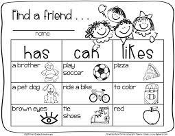 Small Picture Back to School First Grade Activities School and Kindergarten