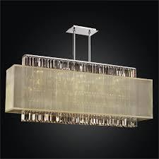 rectangular crystal chandelier rectangular shade chandelier reflections 600lm44 19sp t 7