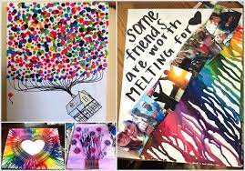 full size of colorful melted crayon art ideas diy remarkable furniture with silhouette heart instructions words