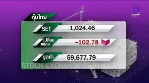 ตลาดหุ้นและราคายางวันนี้ ข่าวค่ำ วันที่ 23 มีนาคม 2563 #NBT2HD - YouTube