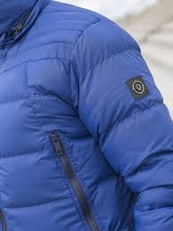 Mens Designer Padded Jacket Eto Clearance Mens Designer Cobalt Hooded Puffer Jacket