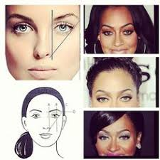 this is a great outline of the proper brow shape find this pin and more on makeup tricks to make you look younger