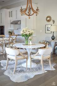 office pretty round kitchen rug 21 under dining table new appealing patterned also rectangle wood of
