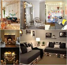 lighting living room ideas. decorate your living room with string lights lighting ideas