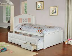 twin platform bed with trundle. Madison White Twin Platform Frame With Trundle Twin Platform Bed Trundle E