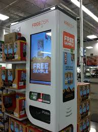 Sams Club Vending Machine Best Scan Your Membership Card For A Free Sample Yelp