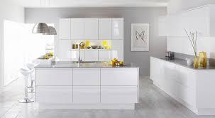 Floor To Ceiling Kitchen Units Malmo White Gloss