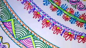 Chart Design Border Simple Flower Chart Paper Border Designs Bedowntowndaytona Com